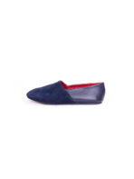 Blue Suede Slip-On