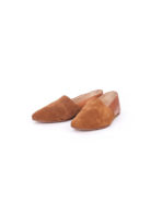 Tan Suede Slip-On